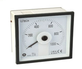 瑞升 240°DC 直流电流表  LS-96