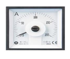 瑞升 240°DC 直流电流表 LS-72