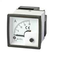 瑞升 90°DC 直流电流表 BE-72