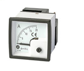 瑞升 90°DC 直流电流表 BE-80