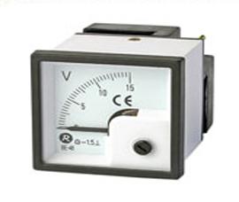 瑞升 90°DC 直流电压表 BE-48