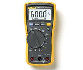福禄克 非接触式电压测量万用表 117C