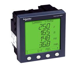 施耐德 电力参数测量仪 PM700