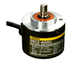 欧姆龙 绝对型旋转式编码器 E6C2-A