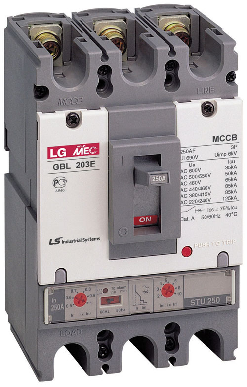 LG 塑壳断路器 TS250H FMU