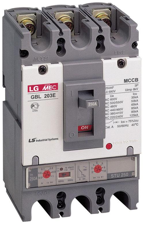 LG 塑壳断路器 TS250H ETS