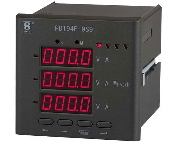 斯菲尔 多功能电力仪表  PD194E-9S4