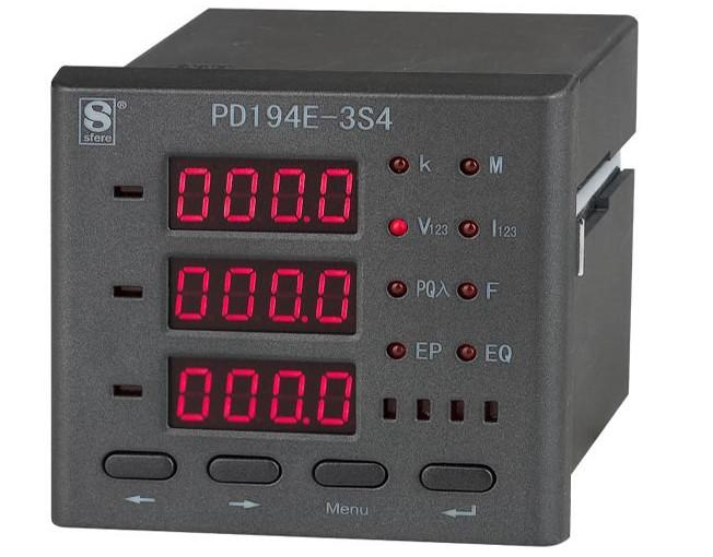 斯菲尔 多功能电力仪表  PD194E-3S4