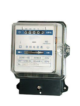人民企业 单相电度表 DD901