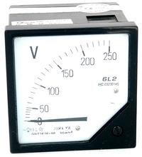 人民企业 电流电压表 6L2
