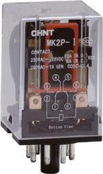 正泰 通用型小型大功率电磁继电器 MK