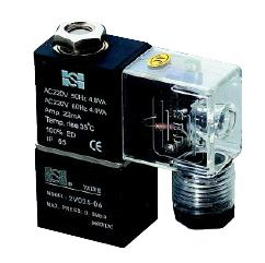 恒一 二方口电磁阀 2V025-06、2V025-08