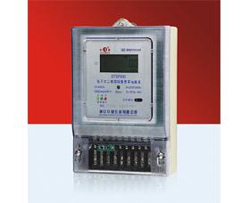 电子式三相四线复费率电能表 DTSF633