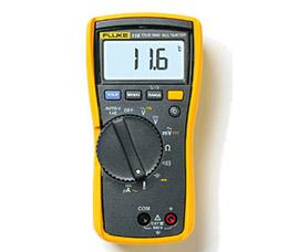 福禄克 温度及微安电流测量HVAC万用表 116C