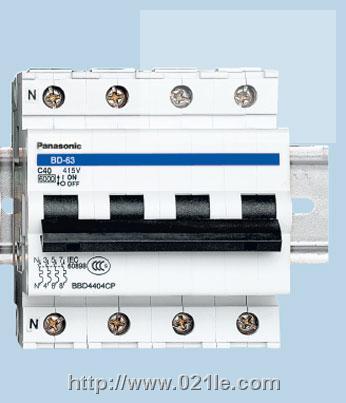 松下电工 动力保护用断路器 BD-63D