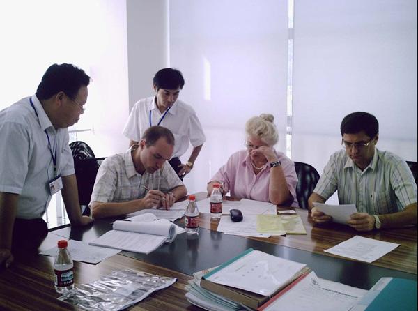 我公司质量管理体系顺利通过第三方审核